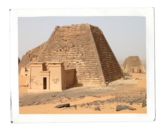 Royal pyramids at Meroe (photo: Cornelia Kleinitz)